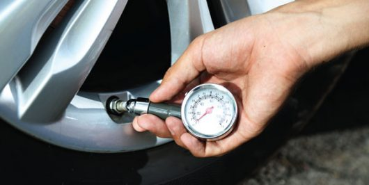 How to inflate your tyres